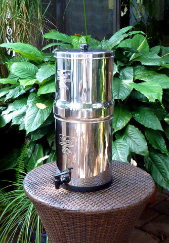 Know the quality of your water with a Berkey Water Purifier.