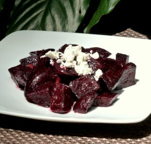 Roasted Beet Salad an excellent source of phytonutrients.
