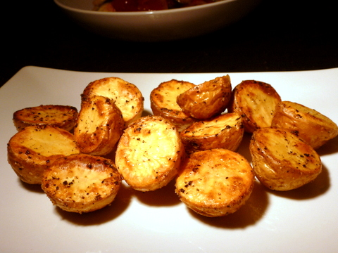 Pop these potatoes in the oven and in 20 minutes they are ready to eat.