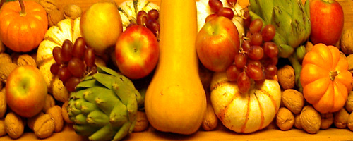 Eating autumn vegetables can make your meals healthy and delicious, and you just may lose weight.