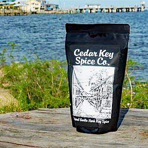 A package of Cedar Key Spice.