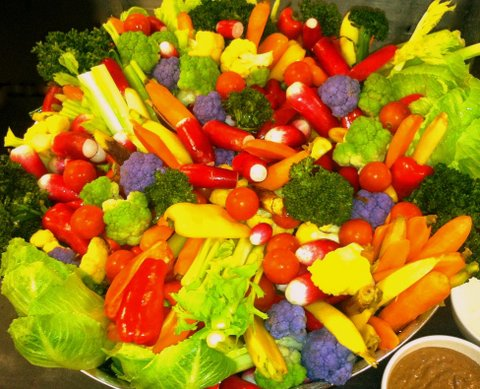 The Hallelujah Diet includes lots of fresh veggies.