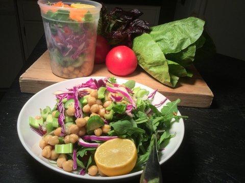 This salad