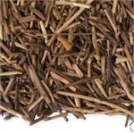 Kukicha tea has 1/10th of the caffeine of regular tea.