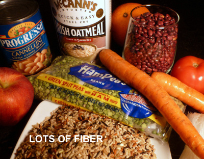 The USDA recommends 28 grams of fiber for an average diet of 2000 calories a day.