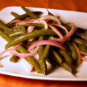 Green Bean Salad - is even for people who don't like vegetables or eat green beans!