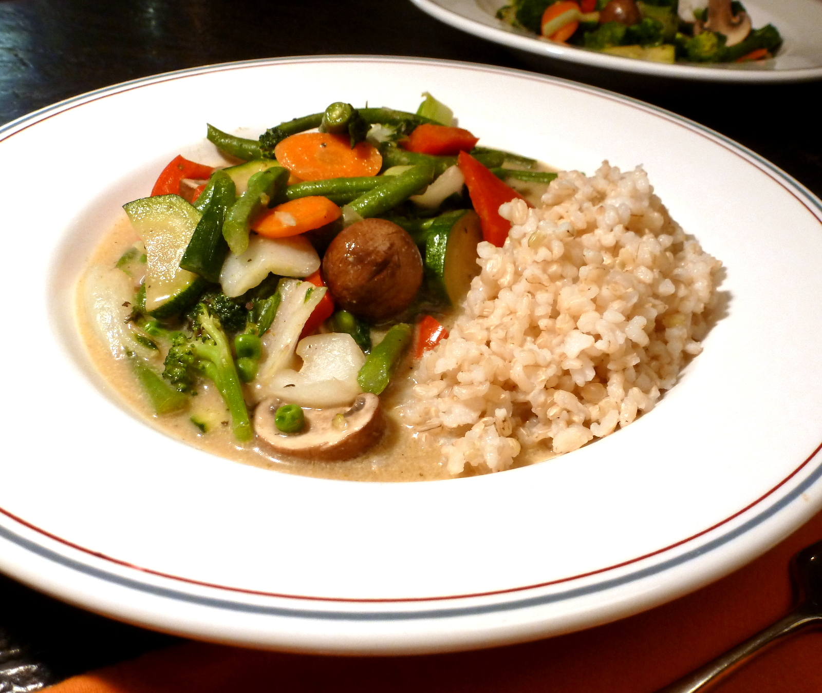Thai Green Curry is absolutely a favorite. It takes a little work, but is absolutely worth the effort.