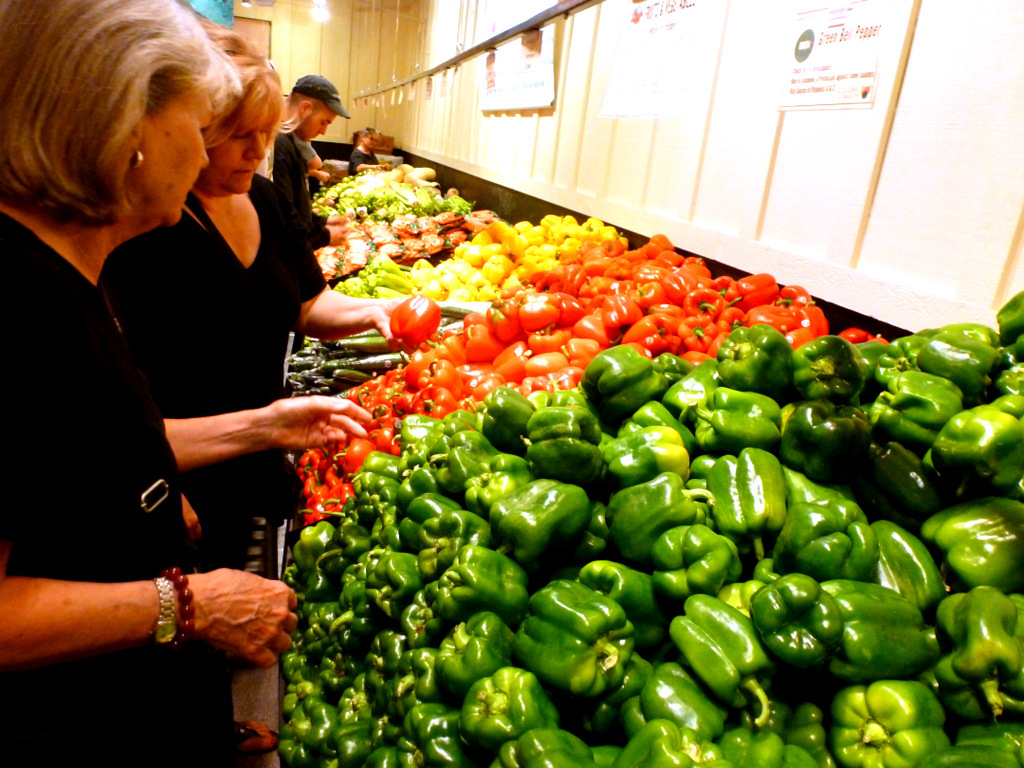 Start your shopping for the week at your local farmer's market