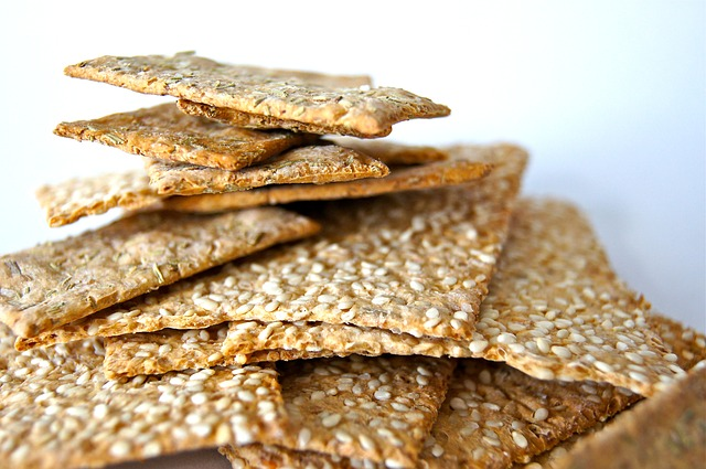Many snacks like crackers have a lot of fat in them. Be sure to read labels when selecting your healthy snacks.