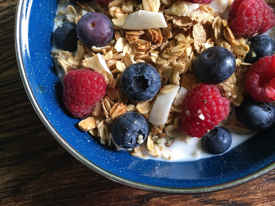 Who can resist berries to enhance your cereal? Berries are delicious and very healthy.