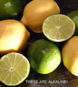 Lemons and limes are ideal for salads.