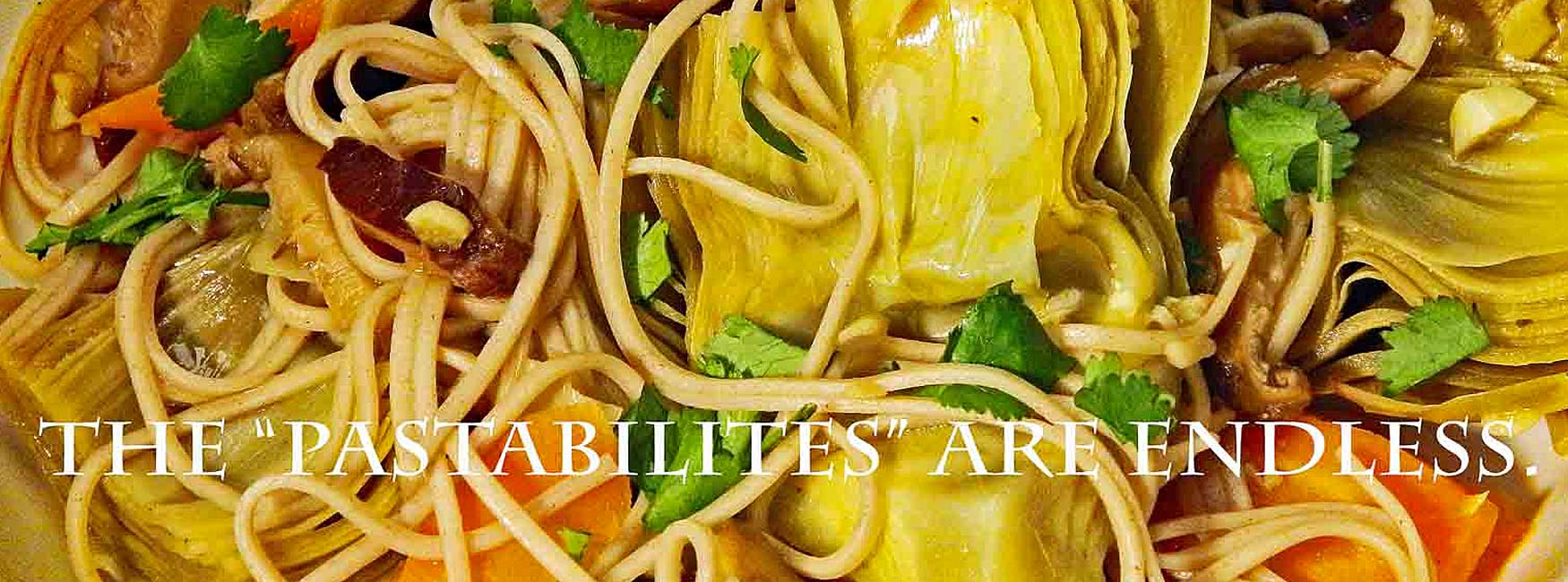 Pasta with veggies make for a filling, healthy addition to your meals.