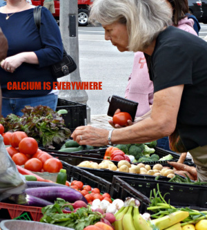 Taking advantage of locally grown fruits and vegetables is a great way to get your healthy supply of calcium.