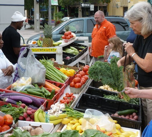 A healthy diet just might begin at your local farmer's market.
