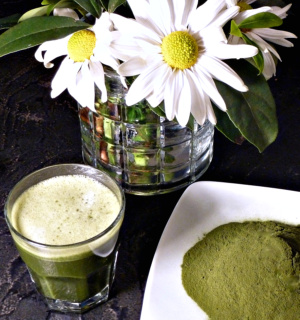 Barley grass powder is an alkaline super food.