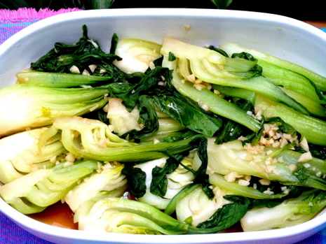 Baby Bok Choy is a delicious vegetable compliments just about any main dish.