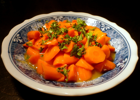 A recipe where the carrots are all dressed up!