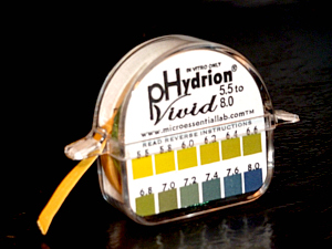 The pH paper is the simplest and most inexpensive way to see if you are on the right track to excellent health