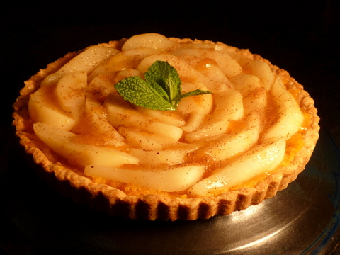 A French fruit tart without all the high calories.