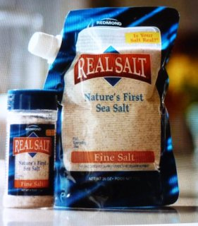 Salt that is mined in Utah from an ancient sea bed.