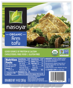 Firm tofu is great for most recipes.